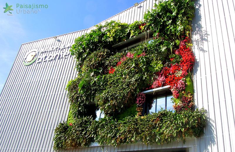 Jardines verticales sistema patentado jardines for Jardines verticales alicante