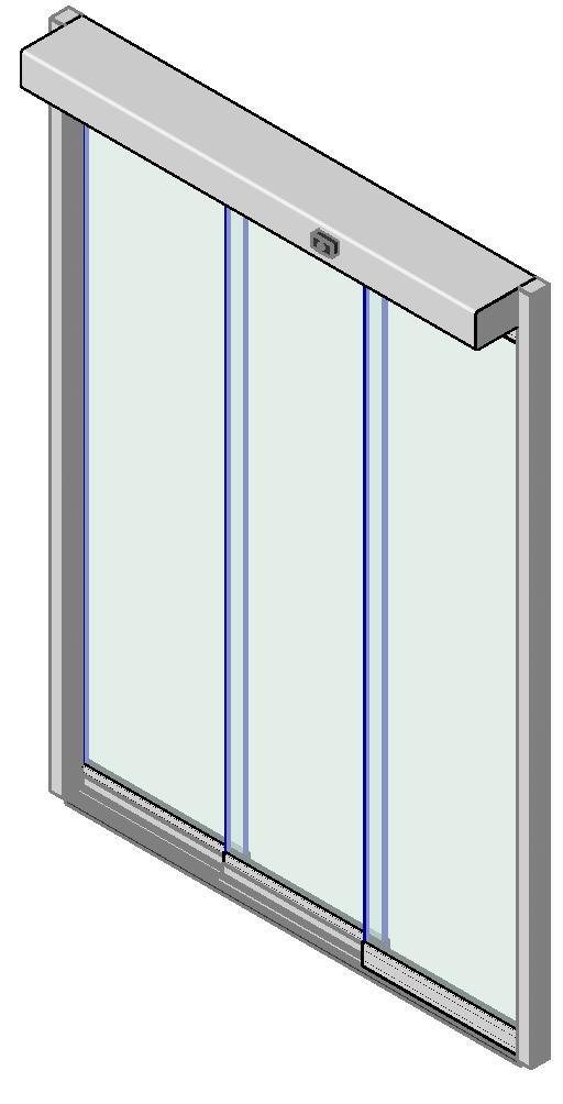 Apertura lateral izquierda con hoja fija manusa puertas for Apertura puertas