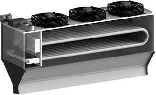 Cortinas de aire caliente a gas yac kromschroeder s a - Cortinas de aire caliente ...