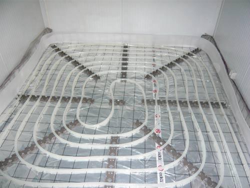 Srpl 20 calef p suelo radiante c colectores de acero inox - Colocacion suelo radiante ...