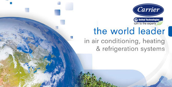 Contact Carrier Carrier air conditioning, heating and refrigeration