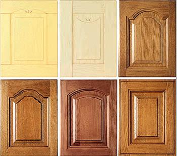 Casas cocinas mueble puertas de madera de roble - Puertas mueble de cocina ...