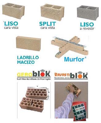 Prensagra comercial de materiales s l productos - Precio ladrillo macizo ...