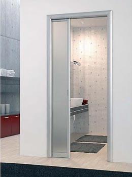 Puertas de cristal correderas para banos dise os - Puertas correderas de cristal para banos ...