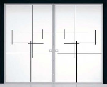 Eclisse iberia s l productos construnario for Puertas de cristal para exterior