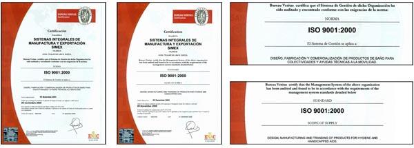 Baño Discapacitados Traduccion:SIMEX – Sistemas Integrados de Manufacturas y Exportación, SL