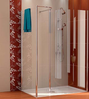 Sanswiss iberia s a productos construnario for Tipos de mamparas para platos de ducha