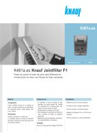 Ebook K461a7 Knauf Jointfiller - Enero 2012