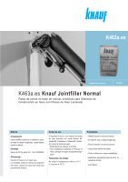 Ebook K463a Knauf Jointfiller normal - Enero 2012