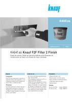 Ebook K464f Knauf F2F Filler 2 Finish - Enero 2012