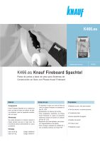 Ebook K466 Knauf Fireboard Spachtel - Enero 2012