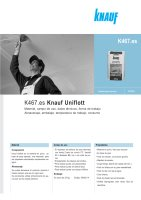 Ebook K467 Knauf Uniflott - Enero 2012