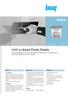 Ebook K468 Knauf Finish Pastös - Enero 2012