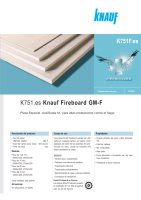 Ebook K751 - Knauf Fireboard GM-F