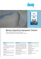 Ebook Mortero superficial Aquapanel Outdoor - Enero 2014