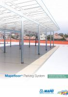 Ebook Mapefloor® Parking System