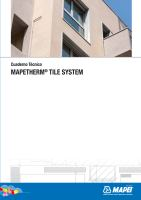 Ebook Mapetherm Tile System
