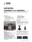 Ebook Soportes regulables y no regulables