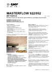 Ebook Masterflow 922-952-952 Plus
