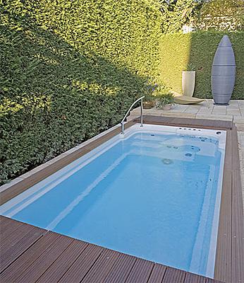 La boutique del agua presenta la nueva mini piscina - Mini piscinas prefabricadas ...