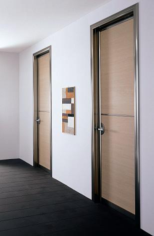 Tecnispai presenta la nueva l nea de puertas de interior thema en veteco 2008 - Color puertas interiores ...