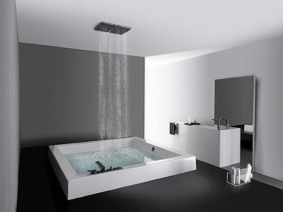 Los ba os m s sencillos y elegantes reformas ducha y ba o - Disenos de banos completos ...