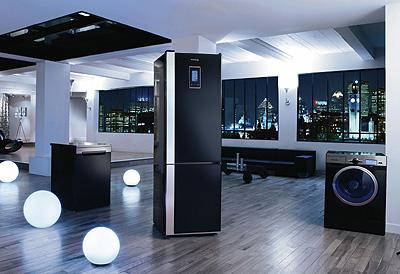 Electrodom sticos en negro interiores3de - Electrodomesticos de colores ...