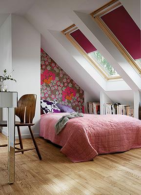 Nuevas soluciones velux para reformar el bajo cubierta - Dormitorios en buhardillas ...