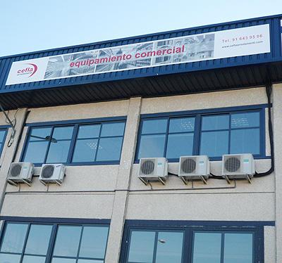 Cefla ib rica inaugura su nueva sede en madrid for Bazar la iberica