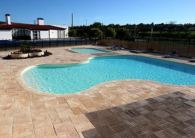 Fabistone el novedoso pavimento de hormig n con imitaci n for Pavimento para alrededor piscina
