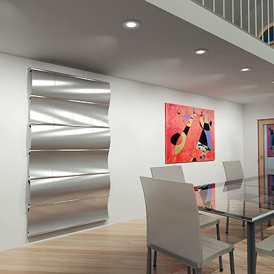 Irsap presenta el nuevo radiador decorativo modelo curval - Modelos de radiadores ...