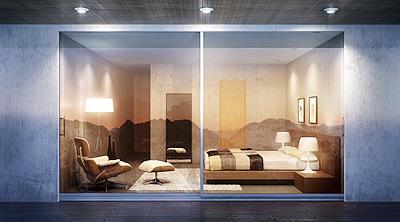 corredera lumeal de technal. Black Bedroom Furniture Sets. Home Design Ideas