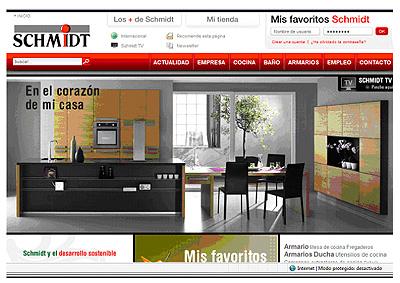 Schmidt cocinas lanza nueva p gina web - Cocinas schmidt precios ...