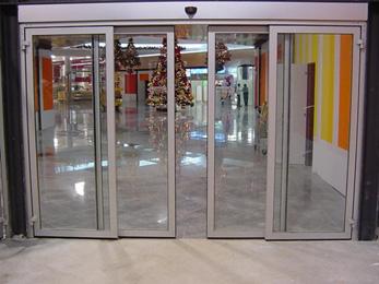 Puertas autom ticas aprimatic for Puertas acristaladas correderas