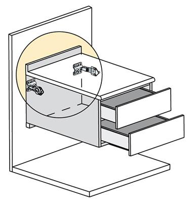 Indaux ha presentado en maderalia atlas su nuevo sistema - Tornillos para muebles ...