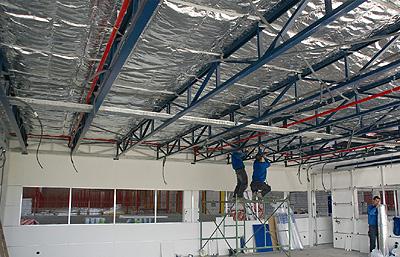 Tq tecnotermic a6 c13 el nuevo aislante t rmico - Aislamiento termico techos ...