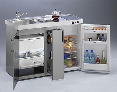 Limatec incorpora en sus mini cocinas el frigor fico - Mini cocinas compactas ...