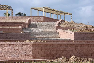 Forte construye un muro segmentado tipo vertica para el for Ciudad jardin valdebebas
