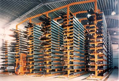 Estanter as para hierro y aluminio perfiles met licos y for Perfiles de estanterias metalicas
