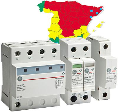 Ge power protection lanza la serie sa surgeguard for Protector sobretensiones permanentes y transitorias