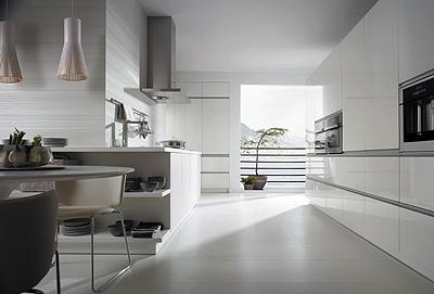 Tiradores integrados en los muebles de cocina fagor for Tiradores muebles cocina