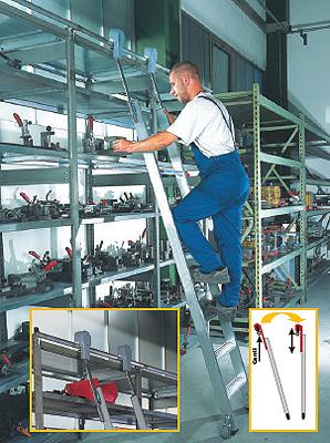 Svelt presenta la nueva escalera corredera - Escaleras para bibliotecas ...