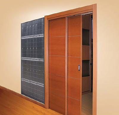 Sistema para puertas correderas modelo paralelo de - Sistema puerta corredera ...