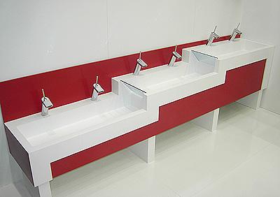 La higiene hecha f cil confort sanitario tambi n para la for Lavamanos para ninos