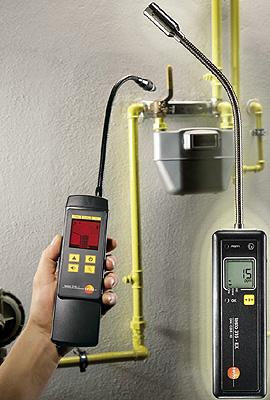 Nuevos detectores de fugas de gas testo for Detector de gas natural