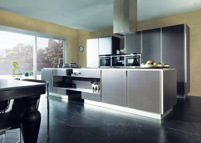 G980 la cocina de cristal de porcelanosa grupo - Cocinas porcelanosa precios ...
