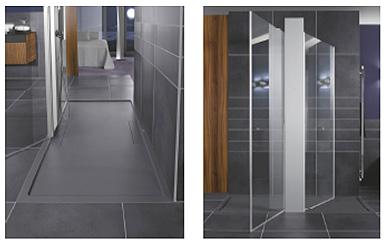 Soluciones innovadoras y originales para los pluri - Platos de ducha a ras de suelo ...