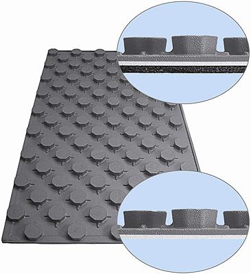 Nuevo panel aislante plastificado t rmico ac stico para for Aislamiento acustico suelo