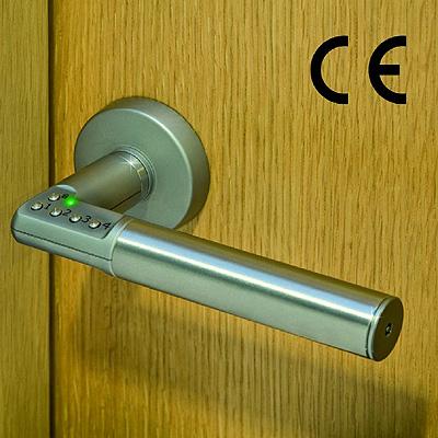 Manilla con teclado digital integrado para un control de - Manillas de puertas de interior ...