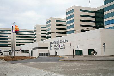 Energ a solar saunier duval en el nuevo hospital la fe de - Hospital nueva fe valencia ...